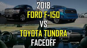 2018 ford f 150 platinum vs 2018 toyota tundra platinum faceoff