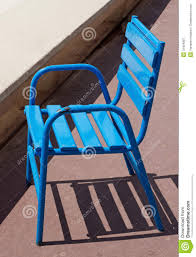 chaises cann es cannes blue chair stock image image of coast 31424897