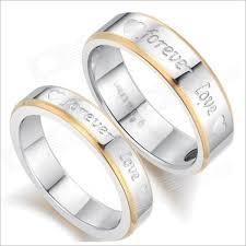 size 9 ring gj259 fashionable forever titanium steel rings