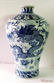Hand Painted Chinese Vase Quality Chinese Blue U0026 White Porcelain Vase Hand Painted Dragon
