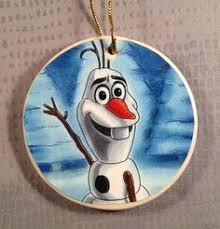 olaf frozen ornament by lastyesterday on etsy buy my stuff i ve