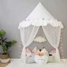 décoration de chambre pour bébé pliable enfants tente fille princesse tipis pour enfants lit à
