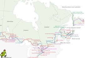 Trans Canada Highway Map by Canada