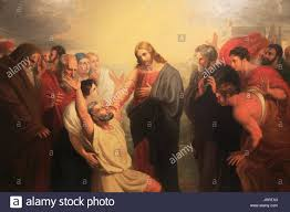 Christ Healing The Blind The Healing Of The Blind Man Stock Photos U0026 The Healing Of The