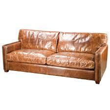 Small Leather Sofa With Chaise Vintage Brown Small Leather For Small Space Amepac Furniture