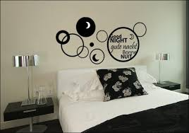 stickers chambre autocollant décoratif pour tête de lit déco de chambre