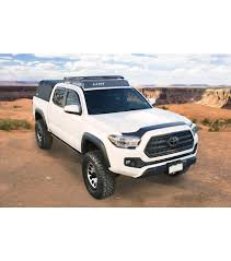 nissan tacoma toyota tacoma stealth rack lightbar setup with sunroof gobi racks