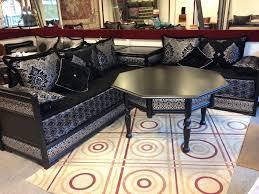 salon canapé marocain incroyable canapé marocain salon et sedari et zarbia luxe 2016