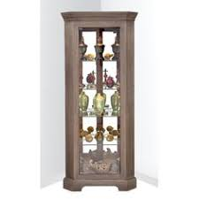 wayfair corner curio cabinet features 3 position l e d touch dome lighting adjustable glass