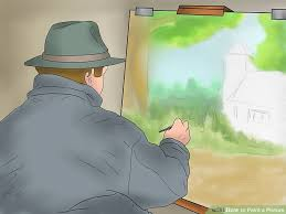 how to paint a picture with pictures wikihow