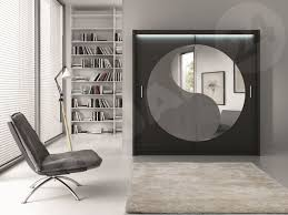 Schlafzimmer Schrank Amazon Schwebetürenschrank Lotos 203 Modernes Schlafzimmerschrank