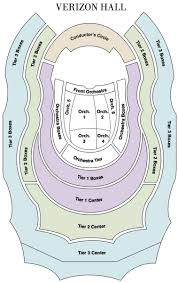 Amphitheater Floor Plan by Seating Map The Philadelphia Orchestra