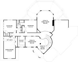 salem small luxury house plan open home floor plans