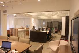 Office Furniture In Los Angeles Ca Mai Glass Wall Installation Architype In Los Angeles California