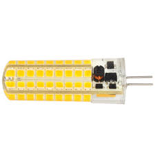 g4 7w led dimmable light 72x 2835 smd led bulb lamp ac dc 12v in