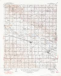 Reno Map Oklahoma Historical Topographic Maps Perry Castañeda Map