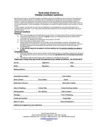 wedding planner contracts wedding planner contract event contracts oklmindsproutco flair photo