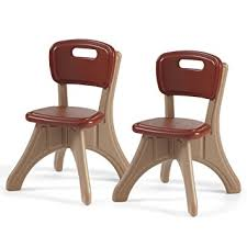 step2 table and chairs green and tan amazon com step2 new traditions chairs toys games