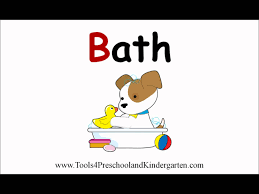 teaching words that begin with the letter b video book for