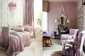 chambre couleur lilas design interieur chambre coucher adulte décorée poudré lilas