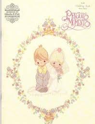 gloria u0026 pat precious moments wedding book cross stitch stash