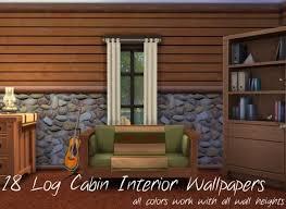 log home interior walls log cabin interior wall set 18 colors by mustluvcatz at
