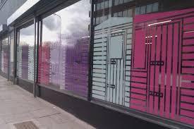 coloured window vinyls kate usher studio