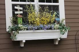 decoration garden boxes flowering plants self watering window