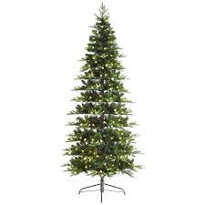 c16 7 5 ft pre lit jacqueline slim christmas tree with warm white