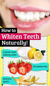 natural teeth whitening how to whiten teeth naturally