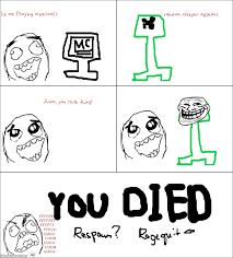 Aww Meme Face - ragegenerator rage comic minecraft rage
