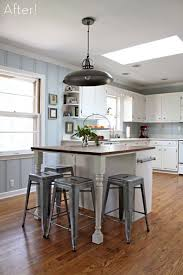 Small Kitchen Islands With Stools Best 25 Small Kitchen Islands Ideas On Pinterest Intended For With