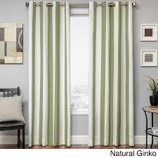 Outdoor Cabana Curtains Softline Sunbrella Cabana Stripe Indoor Outdoor Curtain Panel