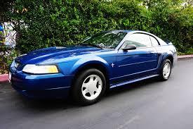 2000 blue mustang used 2000 ford mustang v6 at city cars warehouse inc