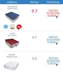 best air mattress top 3 airbeds march u002717 update
