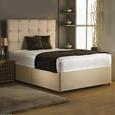 Suede Bed Frame 4ft 6in Divan Bed Base In Colour Suede