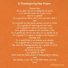 thanksgiving prayer at the end of year festival collections