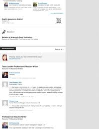 Resume For One Job by Linkedin Profile Writing Service Resume Professional Writers