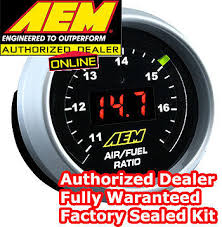 wide band aem 30 4110 digital wideband uego controller air fuel ratio kit