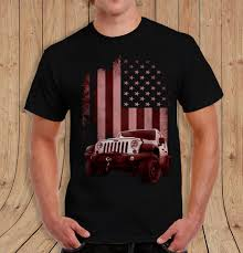jeep american flag american flag jeep shirt black t shirt mens womens