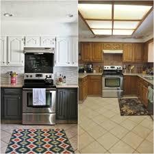 relooking cuisine avant apr鑚 relooking cuisine bois en 18 photos avant après inspirantes