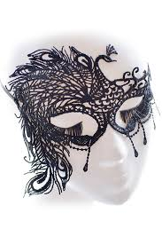 peacock masquerade mask us 0 35 black peacock lace masquerade party mask dropshipping