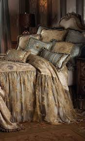 bedding set exquisite shocking silver and gold luxury bedding