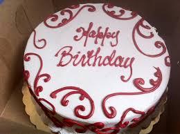 Image result for red velvet birthday cake
