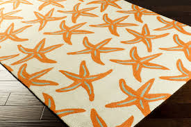 Nautical Themed Rugs Decorating Gorgeous Braided Rug And Starfish Rug Woven Light Gray