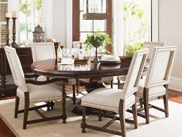 Round Dining Room Tables Kilimanjaro Maracaibo Round Dining Table Lexington Home Brands