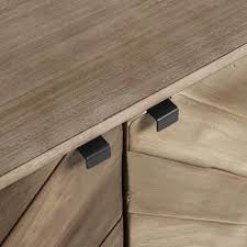 chevron wood storage cabinet world market