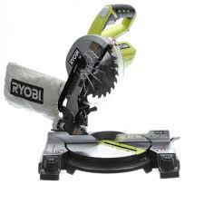 Ryobi 5 Portable Flooring Saw by Ryobi 18 Volt One 7 1 4 In Miter Saw Tool Only P551 The Home
