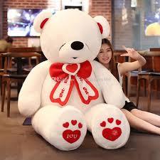 valentines big teddy best size teddy stuffed big valentines day i