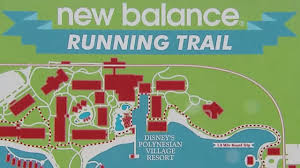 Map Of Walt Disney World by Pack Your Running Shoes And Hit The New Balance Running Trails At